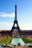 miasta Eiffel France Paris wierza Obraz Stock