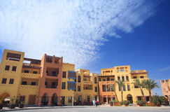 miasta el gouna kwadrat Fotografia Royalty Free
