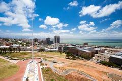 miasta Elizabeth portowy widok fotografia royalty free
