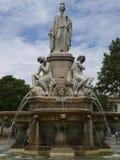miasta France Nimes park Obrazy Stock