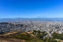 miasta Francisco San linia horyzontu Fotografia Stock
