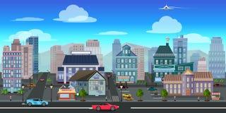 Miasta gemowego tła 2d gemowy zastosowanie 10 tło projekta eps techniki wektor ilustracji
