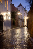 miasta holenderska Nijmegen stara ulica zdjęcie royalty free