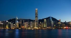 miasta Hong kong Obrazy Royalty Free