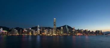 miasta Hong kong Fotografia Royalty Free