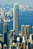 miasta Hong kong Zdjęcia Royalty Free