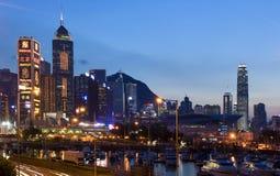miasta Hong kong Zdjęcia Stock