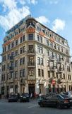 miasta hotelowa Lviv opera Ukraine Obrazy Royalty Free