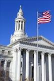 Miasta i okręgu administracyjnego budynek, Denver, Kolorado zdjęcia stock
