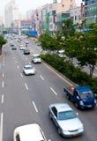 miasta Iksan Korea ruch drogowy Obrazy Stock