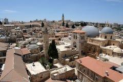 miasta Jerusalem religie trzy obraz royalty free