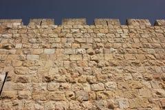 miasta Jerusalem stare ściany obrazy royalty free