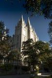 miasta jeziorna mormon soli świątynia fotografia royalty free