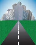 miasta kłoszenia autostrada ilustracji