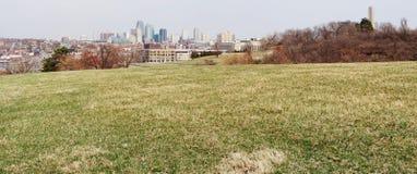 miasta Kansas linia horyzontu Zdjęcia Royalty Free