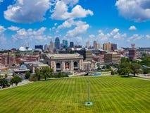 miasta Kansas linia horyzontu Fotografia Stock
