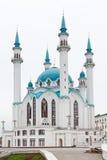 miasta Kazan kol meczetu sharif Zdjęcie Stock
