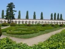 Miasta Kromeriz KromÄ› Å™ÃÅ ¾ - Galeria w kwiatu ogródzie, UNESCO, republika czech, Moravia Fotografia Royalty Free