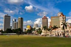 miasta Kuala Lumpur linia horyzontu Obraz Stock
