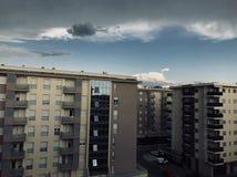 Miasta kvart Podgorica Zdjęcie Royalty Free