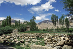 miasta ladakh widok Fotografia Stock