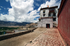 miasta leh monaster blisko Zdjęcia Royalty Free
