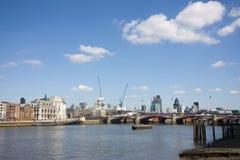 miasta London linia horyzontu Zdjęcia Stock