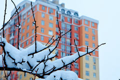 miasta London zima obrazy stock