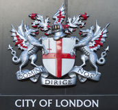 miasta London znak Obrazy Stock