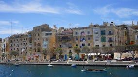 miasta Malta trzy Malta obrazy stock