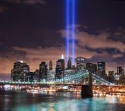 miasta Manhattan nowa panorama York Obrazy Royalty Free
