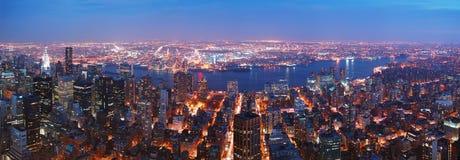 miasta Manhattan nowa panorama York Zdjęcie Stock