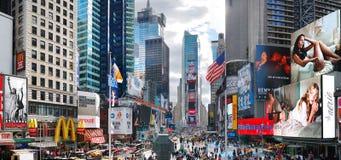 miasta Manhattan nowi kwadratowi czas York Fotografia Stock