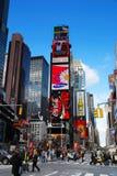 miasta Manhattan nowi kwadratowi czas York Obrazy Stock