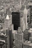 miasta Manhattan nowi linia horyzontu drapacz chmur York Zdjęcia Stock