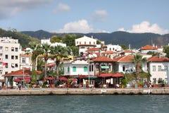 miasta marmaris popularny kurortu indyk Zdjęcie Royalty Free