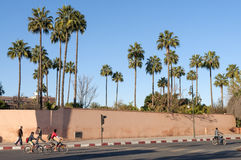 miasta Marrakesh stara ściana Obrazy Stock