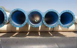 miasta metalu drymby dostawy woda Zdjęcie Stock