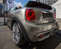 Miasta Mini Cooper S samochodowy kabriolet Fotografia Royalty Free