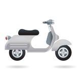miasta motocyklu rocznik Zdjęcia Stock