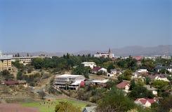 miasta Namibia widok Windhoek Obraz Royalty Free
