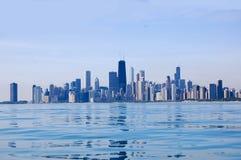 Miasta nieba linii widok Zdjęcie Royalty Free