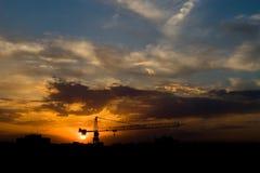 Miasta niebo zdjęcia stock