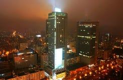 Miasta noc życie zdjęcie stock