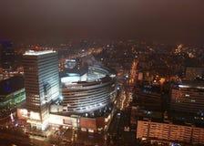 Miasta noc życie obrazy stock