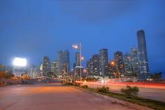 miasta Panama linia horyzontu Fotografia Royalty Free