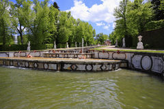 miasta parkowy Segovia spanish zdjęcie stock