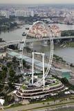 miasta pejzaż miejski rzeka Singapore Obraz Stock
