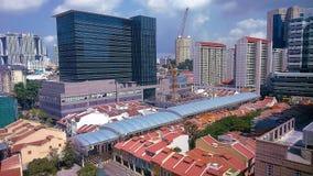 miasta pejzaż miejski rzeka Singapore Zdjęcia Stock