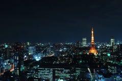 miasta pejzaż miejski Tokyo widok Obrazy Stock